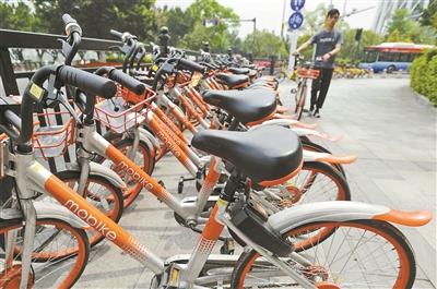 广州共享单车将控制总量动态调节