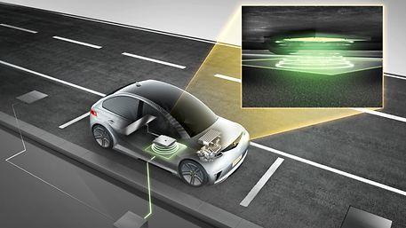 电动汽车无线感应充电