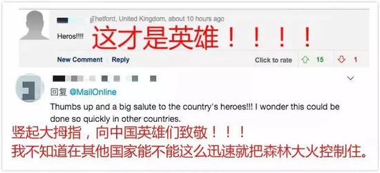 为中国消防员点赞!