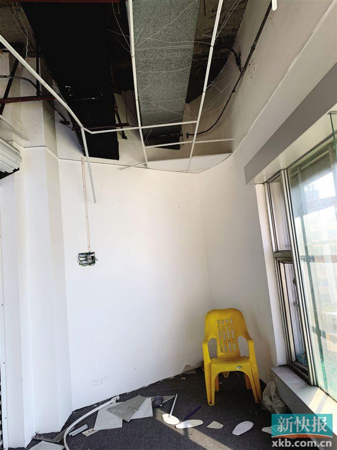 ■桂先生租的公寓所在楼层。