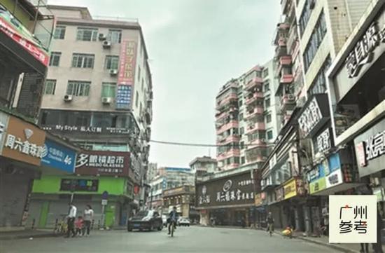 (周边城中村的现貌也将迎来大改变。广州日报全媒体记者陈白帆摄)