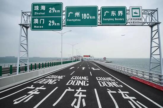 即将通车注册万和城港珠澳大桥 视觉中国 图