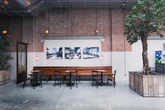 Filmhallen的影院休息室带有老式车站的感觉 本文图均为 陆洋 摄