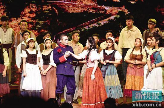 ■星海音乐学院・歌剧《爱之甘醇》。