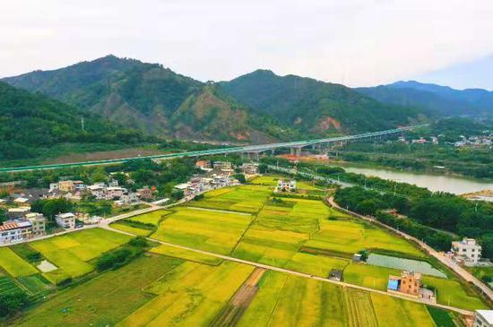 粤东区域连通再升级 梅州东线18日10时正式通车