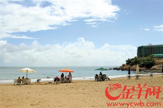 位于珠海万山群岛的东澳岛自然景观优美