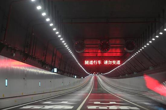 港珠澳大桥隧道 视觉中国 图