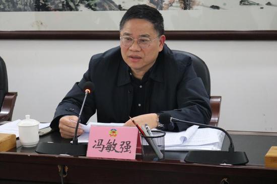 肇庆市政协副主席冯敏强涉嫌严重违纪违法被查(图)