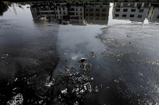 某河涌治理前 本文图片均来自广州市河长制办公室