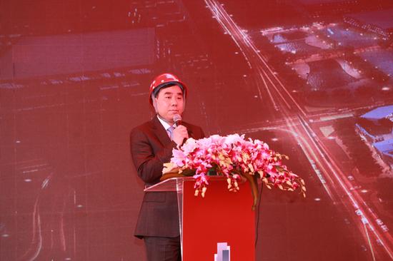 铁狮门中国区首席执行官、高级董事总经理陈志超先生致辞