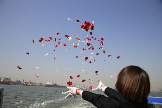 广州骨灰撒海活动 今起可全年进行预约登记
