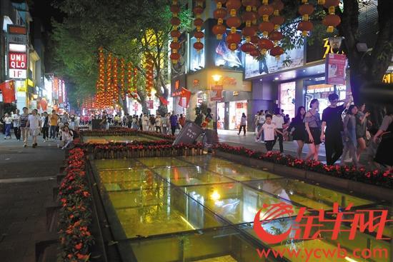 北京路商圈夜景