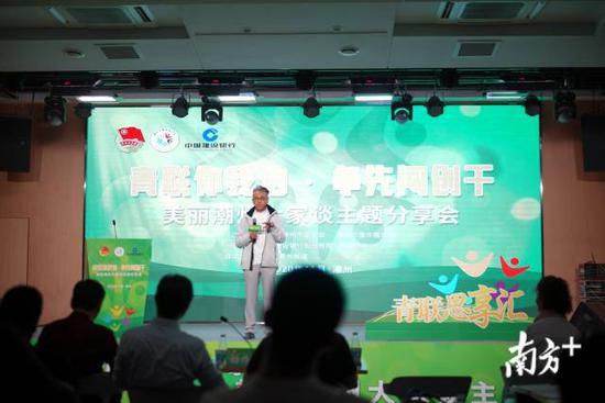 冯晓哲对潮州文化的未来发展提出建议。