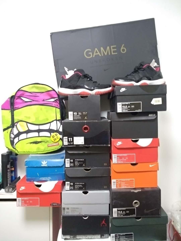 炒鞋玩家收藏的潮鞋