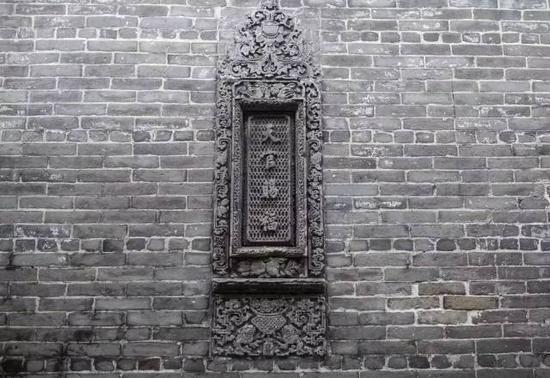 天官赐福砖雕(摄影许伟明)