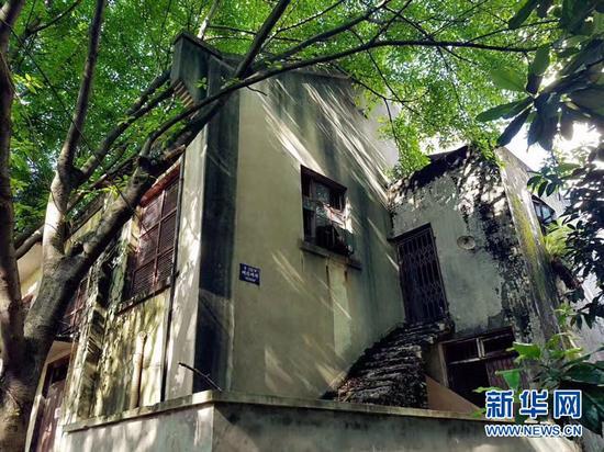 重庆大学七七抗战礼堂。新华网发(资料图)