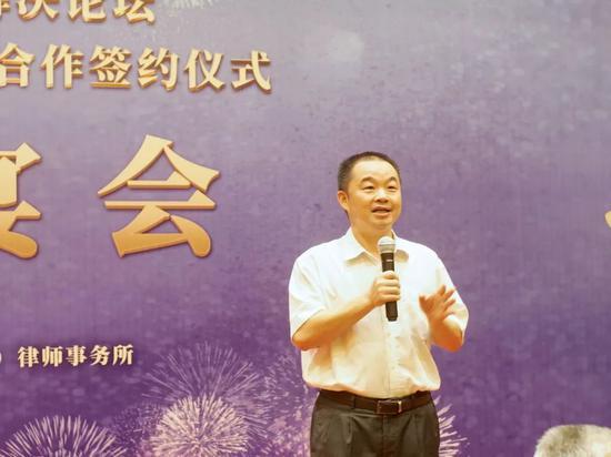 △ 深圳市律师协会会长林昌炽