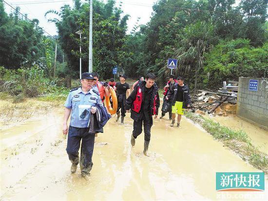今起广东省大部降水明显减弱,以局部阵雨为主