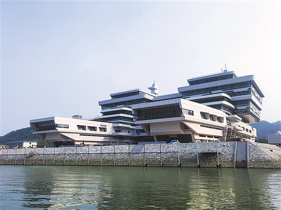 香山海洋科技港正式建成