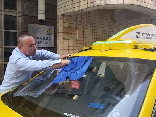 出租车司机李俊杰