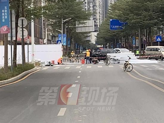 事发现场 深圳新闻网 图