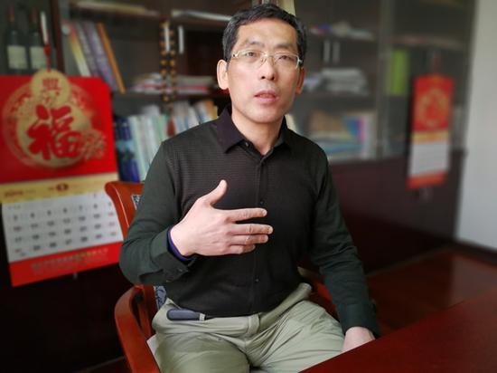 娄高明。  澎湃新闻记者 朱远祥 图
