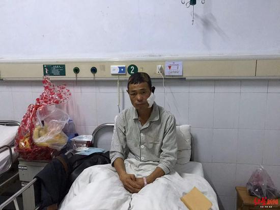 李某太正在汉寿人民医院接受治疗
