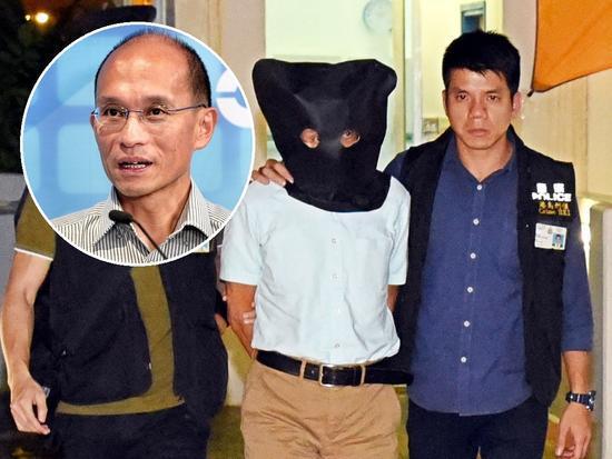 港大教授张祺忠被捕,明日东区法院提堂。(港媒)