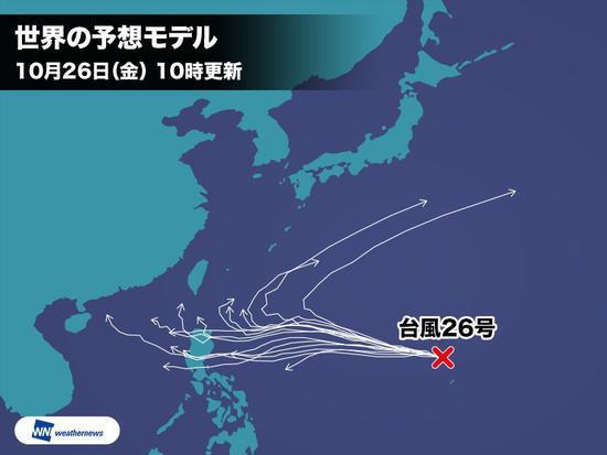 """""""玉兔""""模拟行进路线(日本气象新闻)"""