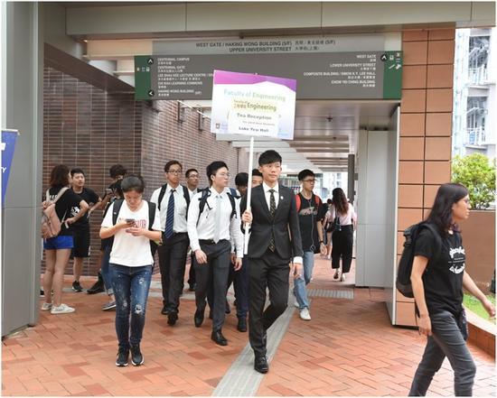 港大今日开学,表示将为师生提供支援。(图:港媒)