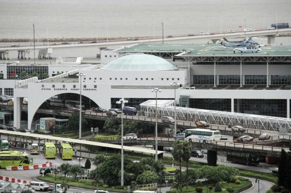 图片为澳门外港码头