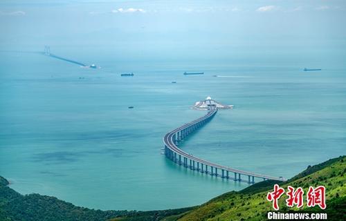 图为港珠澳大桥资料照片。中新社记者 张炜 摄