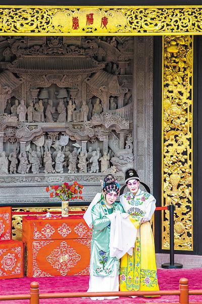 广福台代表广府地区传统木作与砖雕的最高水平。