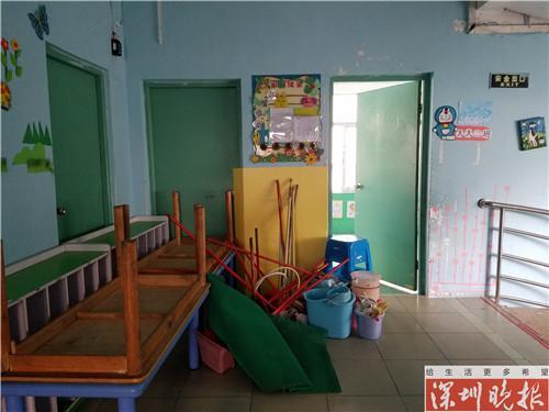 创业花园幼儿园二楼教室