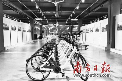 小蓝单车最近发布可以变速的共享单车。 资料图片