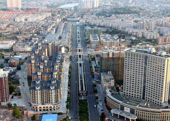 2012年全国各县gdp_全国21县GDP超千亿广东无一上榜:多因撤县改区设镇