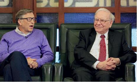 巴菲特与比尔盖茨