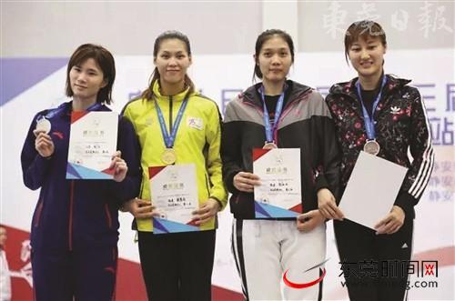 赖江玲(左二)的全运会之旅值得期待
