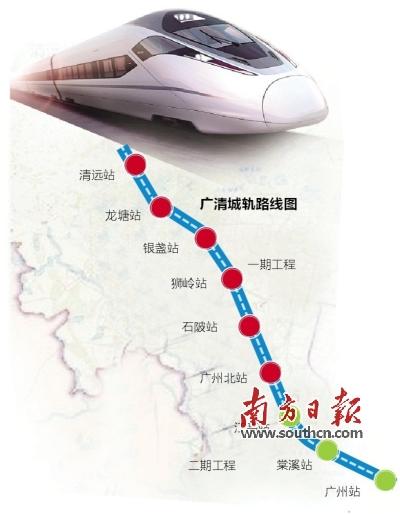 备受清远人关注的广清城际轨道二期有新的进展。