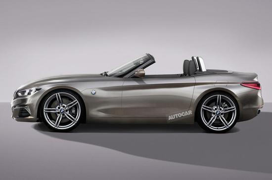 新一代宝马Z4将与丰田全新Supra共享同一平台进行打造