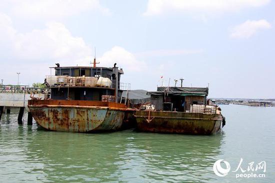 广东海警查获价值超千万涉嫌走私牛肉冻品