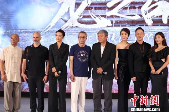 战争动作电影《龙之战》30日在京举行首映礼。 主办方供图