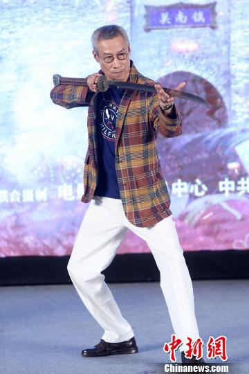 刘佩琦在片中饰演冯子材。 主办方供图