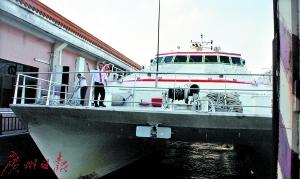 中山港到深圳福永码头航船18日开通。
