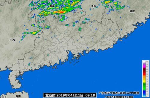 未来几天广东降水趋于活跃 并伴有8级以上大风
