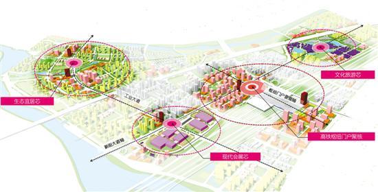 广州北站周边地区规划示意图