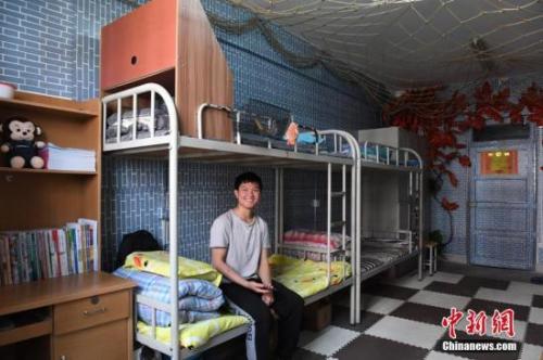 资料图:学生公寓。中新社记者 杨艳敏 摄