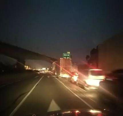 广清高速北行石丰出口路段及双向朝阳出口路段