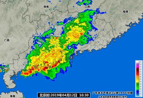 周末广东有强降水 继续防御强对流及其次生灾害