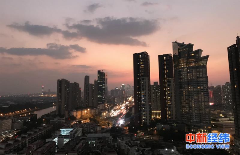 深圳罗湖区一片住宅小区。中新经纬 薛宇飞 摄